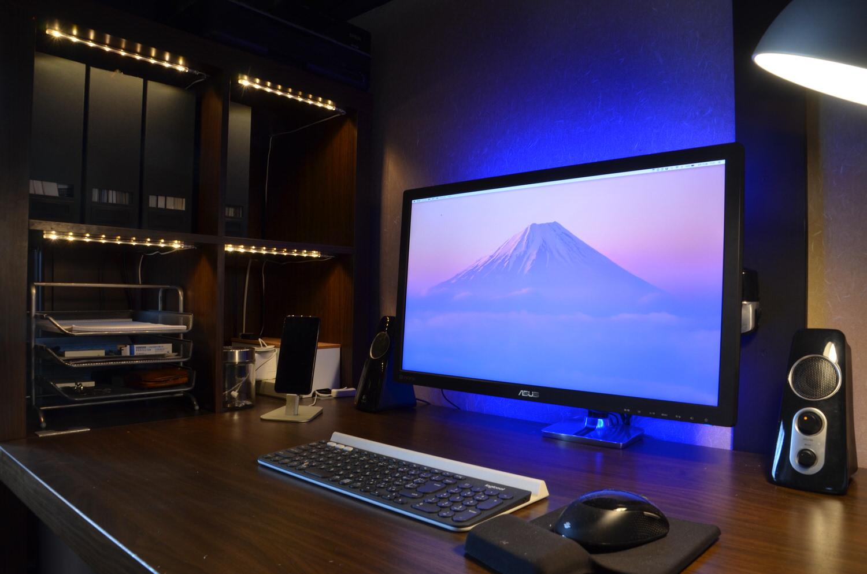 Desk ledtape10