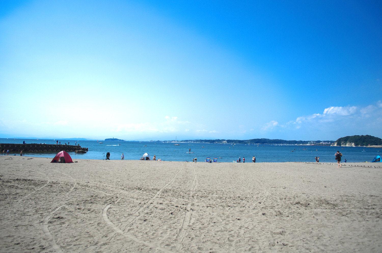 Hayama sandwich beach
