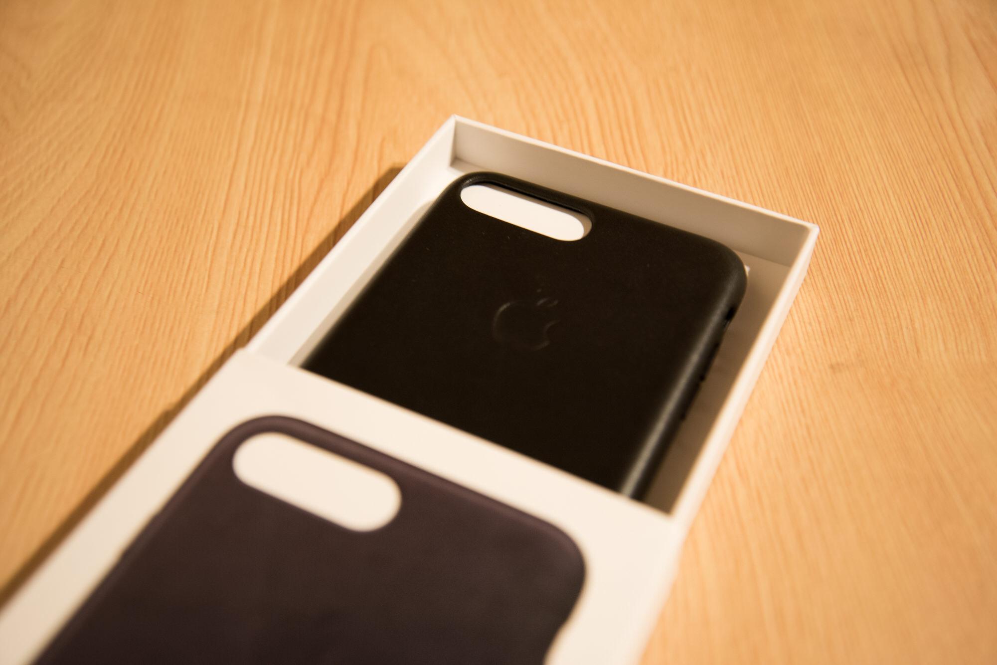 Iphone7plus leathercase 2