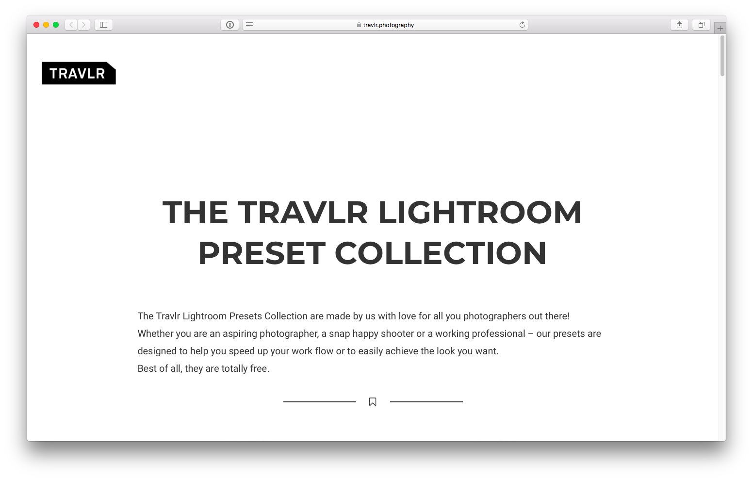Travlr lightroom preset free 1