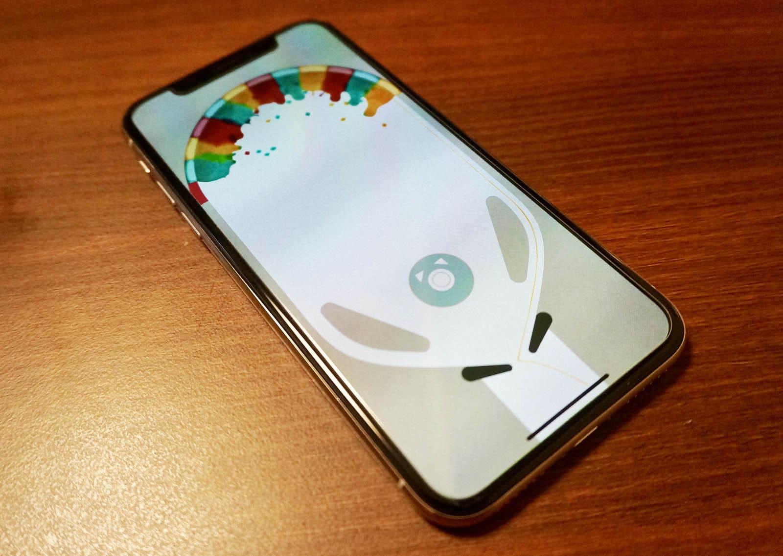 iPhone Xに対応している「Inks」