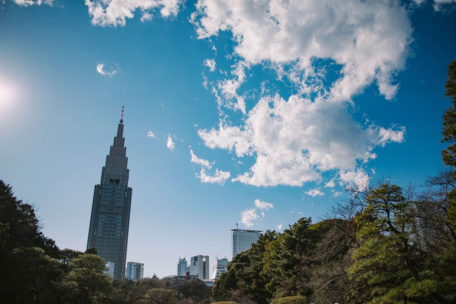 新宿御苑で撮影した写真
