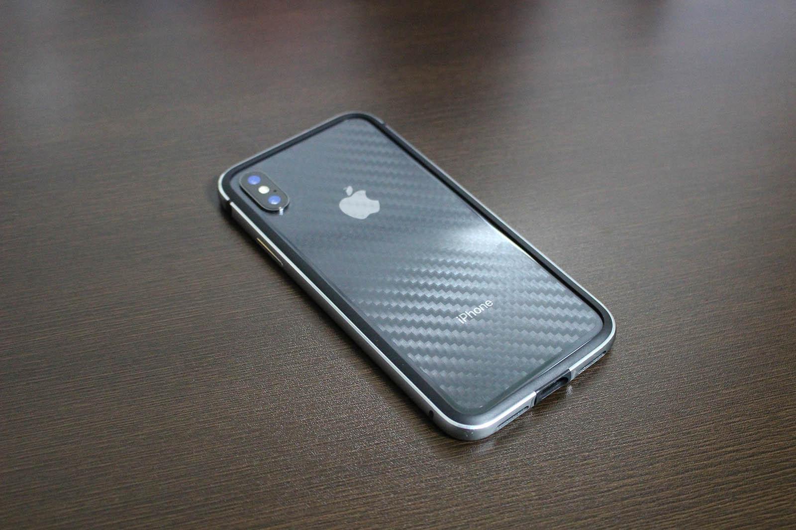 ぴったんのiPhone X・背面