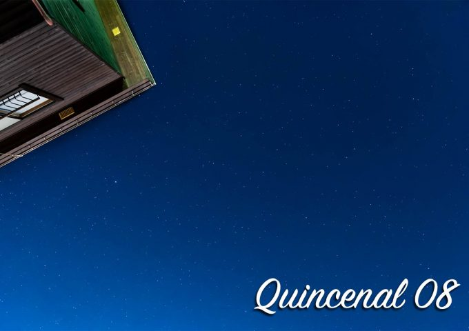 Quincenal第8号「上を向いて。」