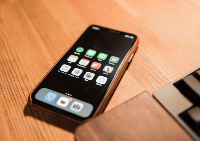 【スマホの中身 番外編】iPhone XS時代のシンプルホーム画面晒し