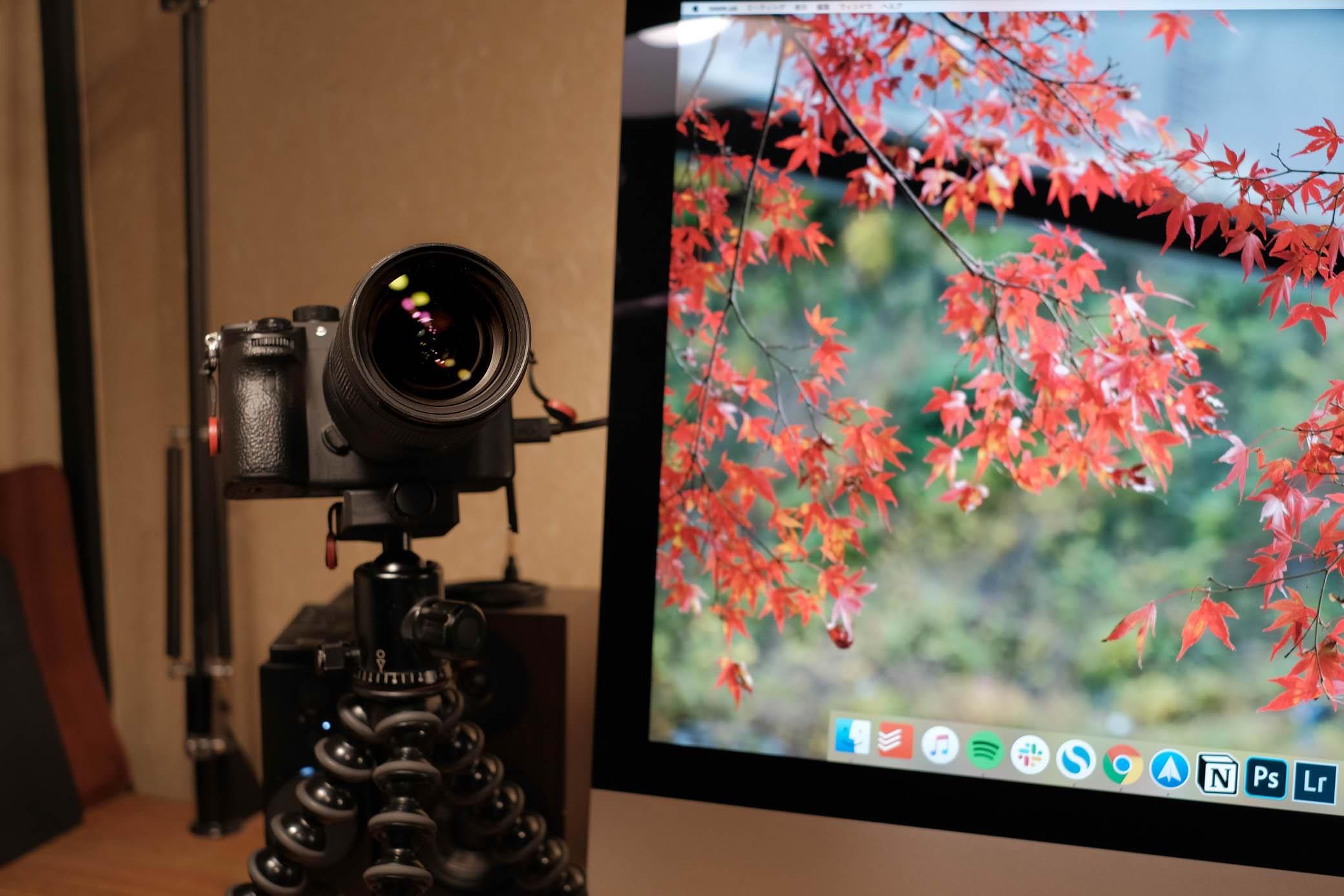 カメラ mac