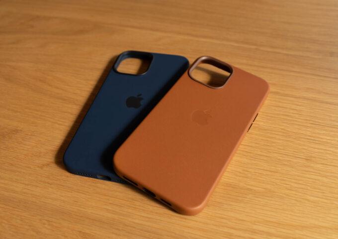 iPhone 12 Pro Max用純正レザーケース・シリコーンケースが到着!11 Pro Maxとざっくり比較