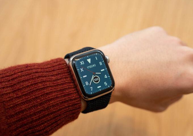 Apple Watch用純正『ブレイデッドソロループ』を1ヶ月使ってみた。値は張るが耐久性もバッチリで良い