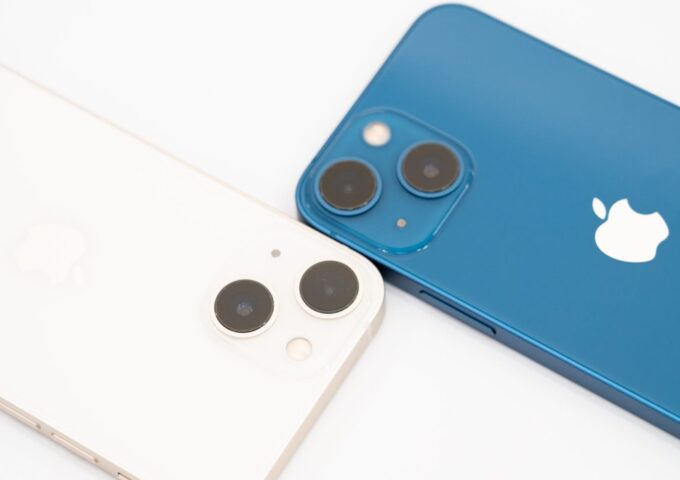iPhone 13 mini(スターライト・ブルー)開封・外観レビュー