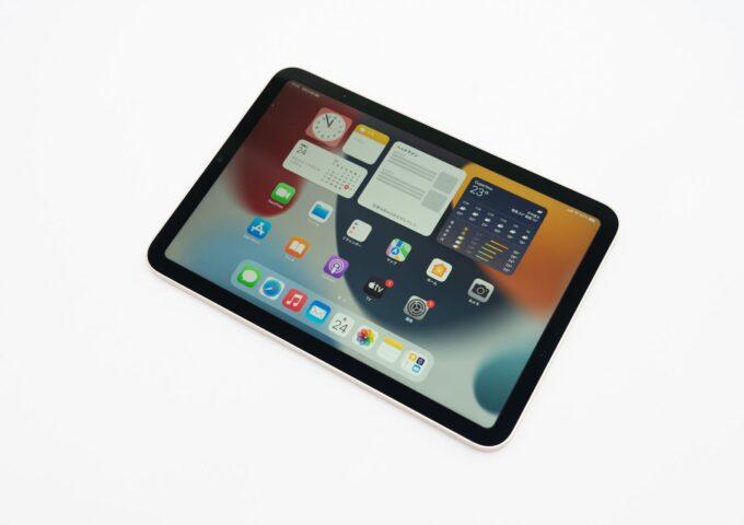 iPad mini(第6世代)が到着!開封して外観をチェック